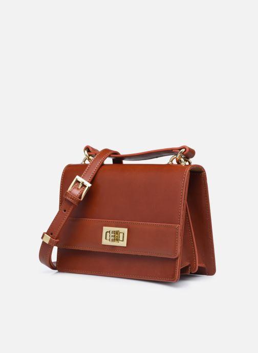 Handtaschen Sabrina JOSEPHINE braun schuhe getragen