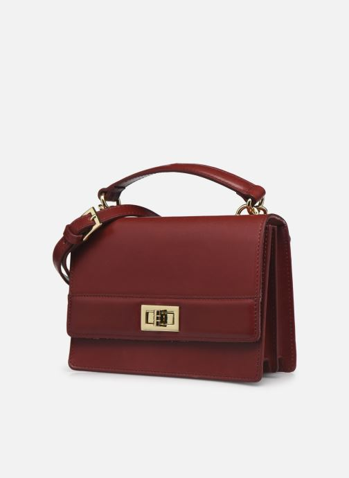 Handtaschen Sabrina JOSEPHINE weinrot schuhe getragen