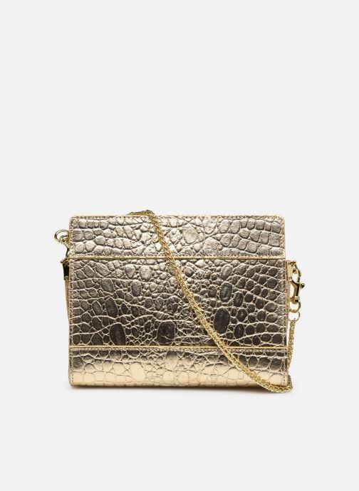 Bolsos de mano Sabrina HUBERTINE Oro y bronce vista de frente