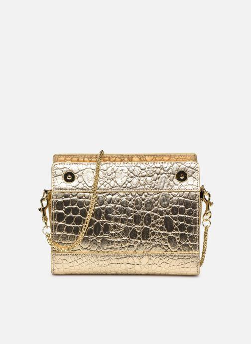 Bolsos de mano Sabrina HUBERTINE Oro y bronce vista de detalle / par