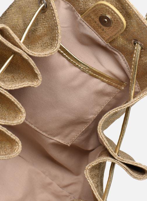 Handtassen Sabrina MARGOT Goud en brons achterkant