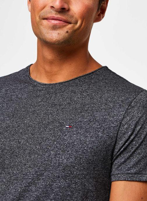 Vêtements Tommy Jeans TJM Essential Jaspe Tee Gris vue face