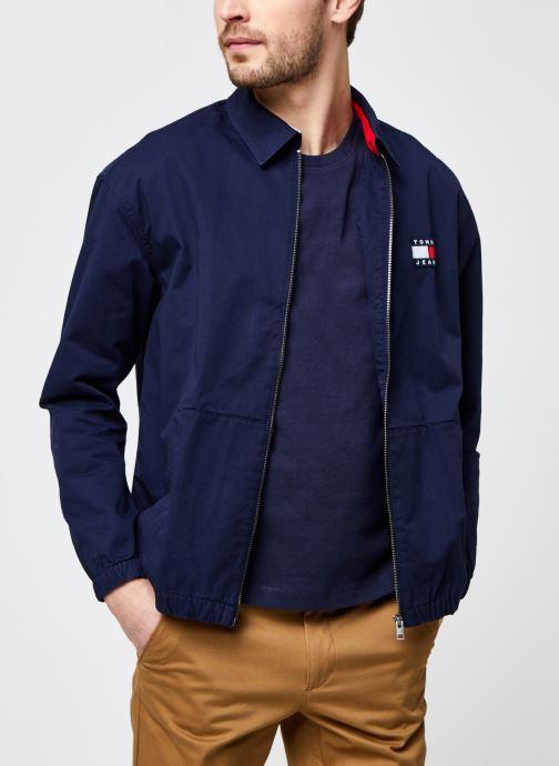 Vêtements Tommy Jeans TJM Casual Cotton Jacket Bleu vue détail/paire
