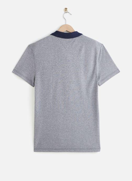 Vêtements Tommy Jeans TJM Textured Polo Bleu vue bas / vue portée sac
