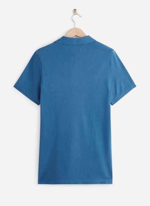 Vêtements Tommy Jeans TJM Nos Polo Bleu vue bas / vue portée sac