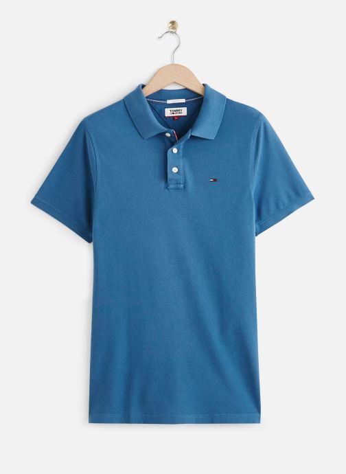Vêtements Tommy Jeans TJM Nos Polo Bleu vue détail/paire