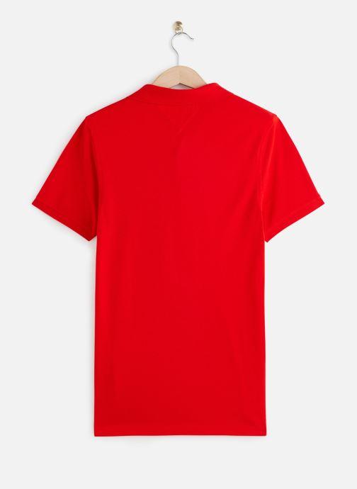 Vêtements Tommy Jeans TJM Nos Polo Rouge vue bas / vue portée sac