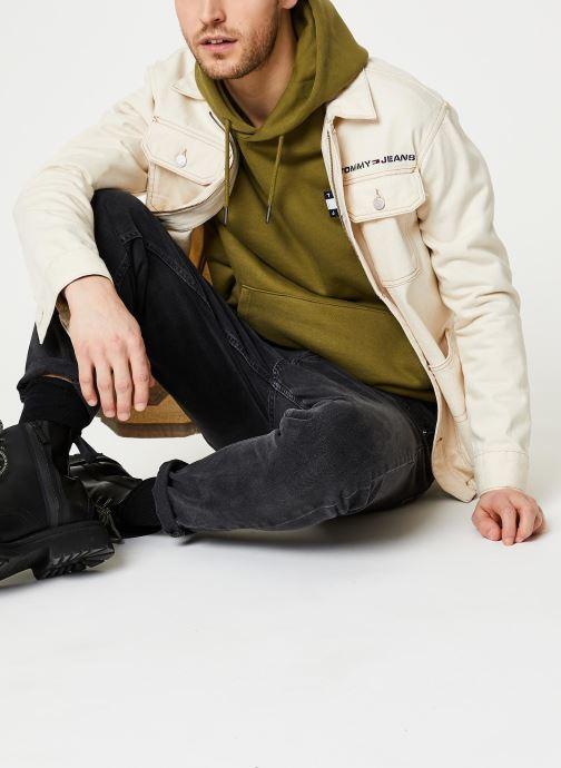 Tøj Tommy Jeans Oversize Workwear Jacket Wrkec Beige se forneden