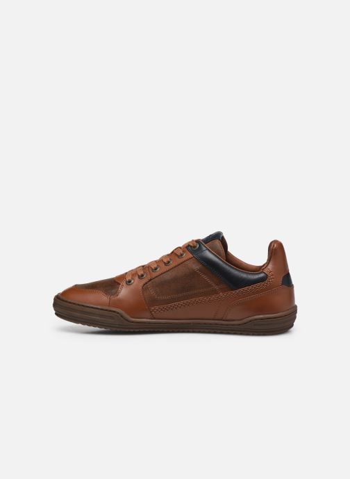 Sneakers Kickers JUNGLE Marrone immagine frontale