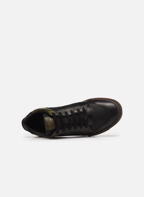 Sneakers Kickers JUNGLE Nero immagine sinistra