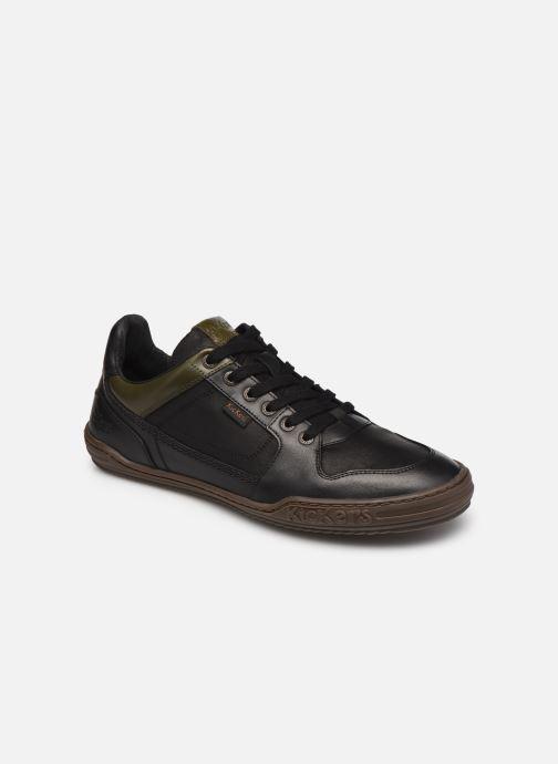 Sneaker Kickers JUNGLE schwarz detaillierte ansicht/modell