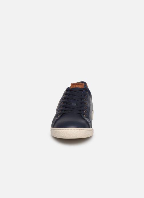 Baskets Kickers SONGO Bleu vue portées chaussures