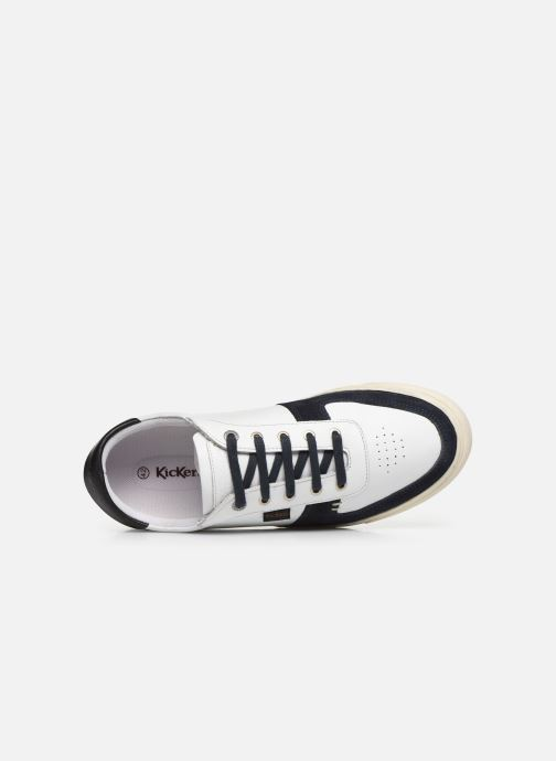 Sneaker Kickers SNIKLAN M weiß ansicht von links