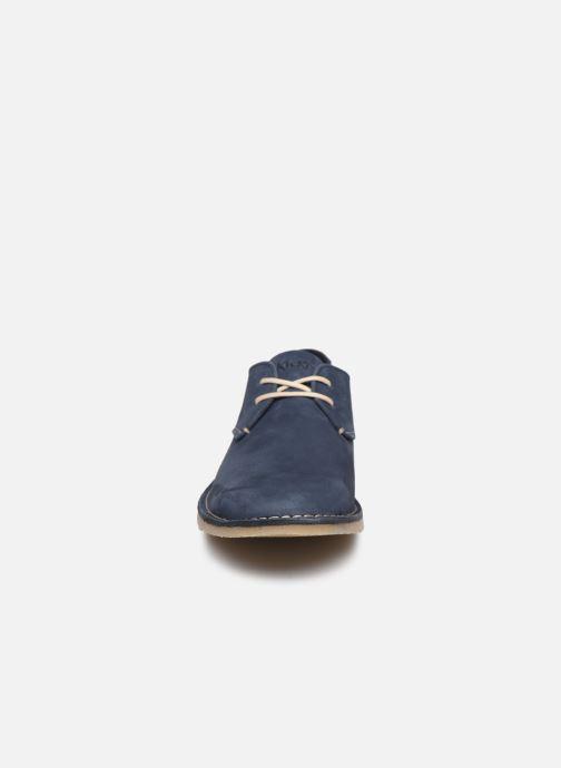 Chaussures à lacets Kickers TWISTEE Bleu vue portées chaussures