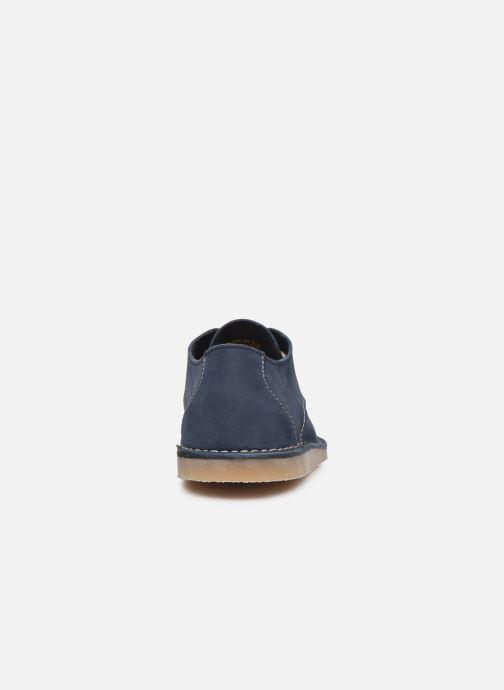 Chaussures à lacets Kickers TWISTEE Bleu vue droite