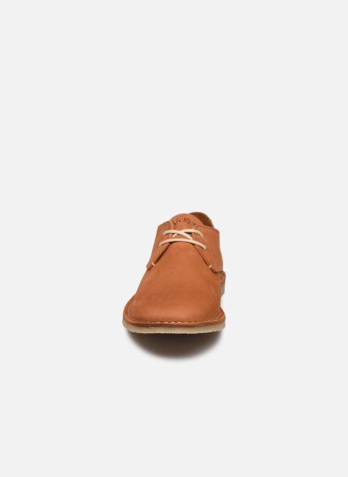 Schnürschuhe Kickers TWISTEE braun schuhe getragen