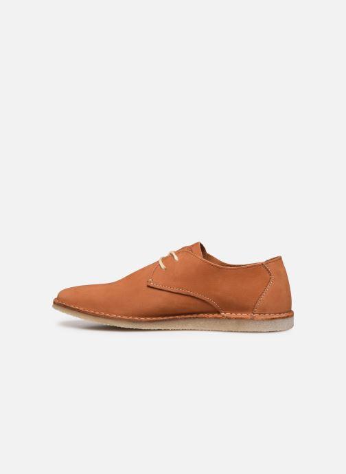 Zapatos con cordones Kickers TWISTEE Marrón vista de frente
