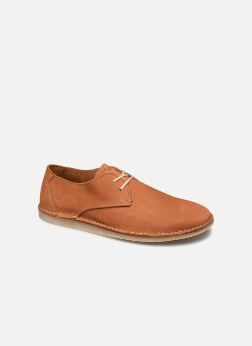 Zapatos con cordones Kickers TWISTEE Marrón vista de detalle / par