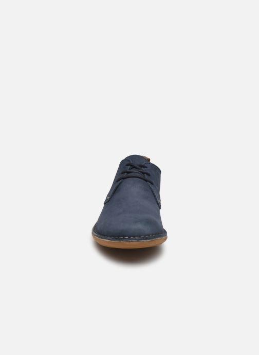 Chaussures à lacets Kickers SWIDIRA Bleu vue portées chaussures
