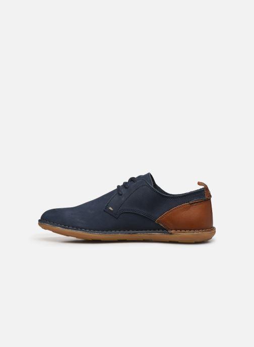Chaussures à lacets Kickers SWIDIRA Bleu vue face