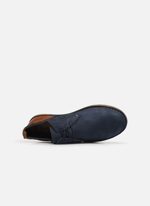 Chaussures à lacets Kickers SWIDIRA Bleu vue gauche