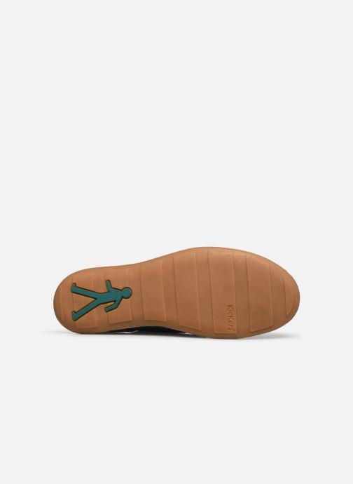 Chaussures à lacets Kickers SWIDIRA Bleu vue haut