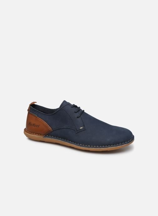 Chaussures à lacets Kickers SWIDIRA Bleu vue détail/paire