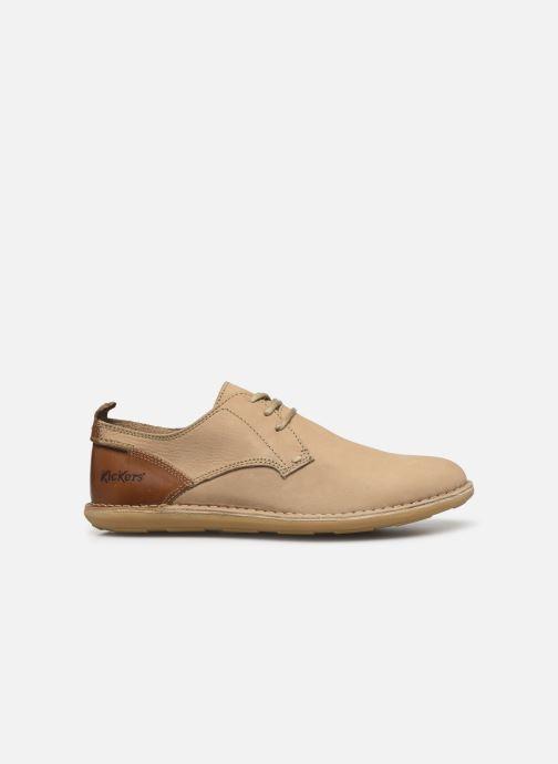 Chaussures à lacets Kickers SWIDIRA Beige vue derrière