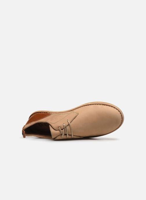 Chaussures à lacets Kickers SWIDIRA Beige vue gauche