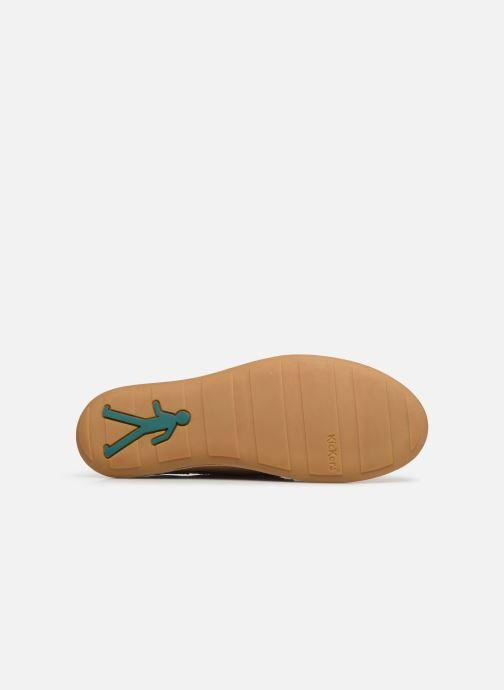 Chaussures à lacets Kickers SWIDIRA Beige vue haut