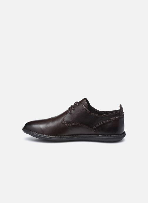 Chaussures à lacets Kickers SWIDIRA Marron vue face