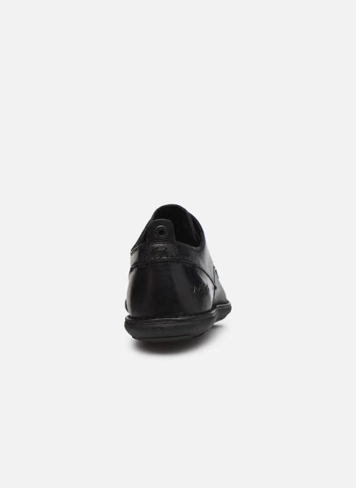 Zapatos con cordones Kickers SWIDIRA Negro vista lateral derecha
