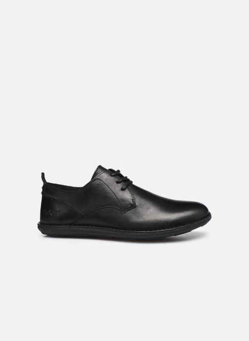 Zapatos con cordones Kickers SWIDIRA Negro vistra trasera
