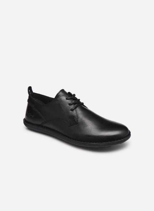 Zapatos con cordones Kickers SWIDIRA Negro vista de detalle / par