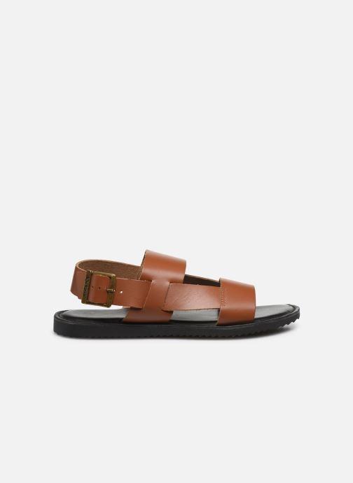 Sandales et nu-pieds Kickers DITHON Marron vue derrière