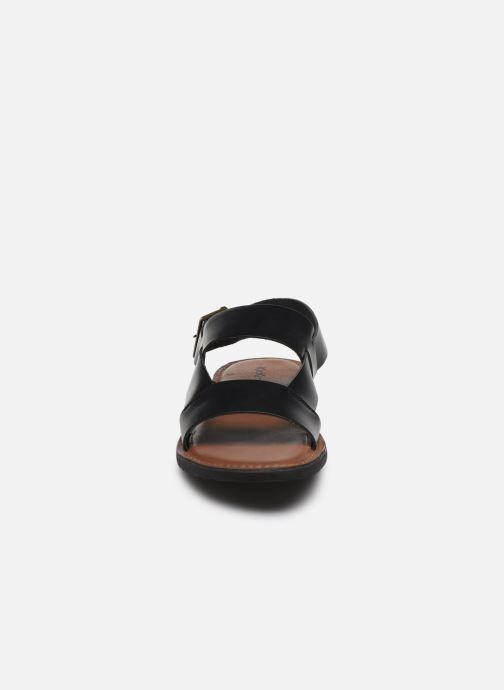 Sandales et nu-pieds Kickers DITHON Noir vue portées chaussures