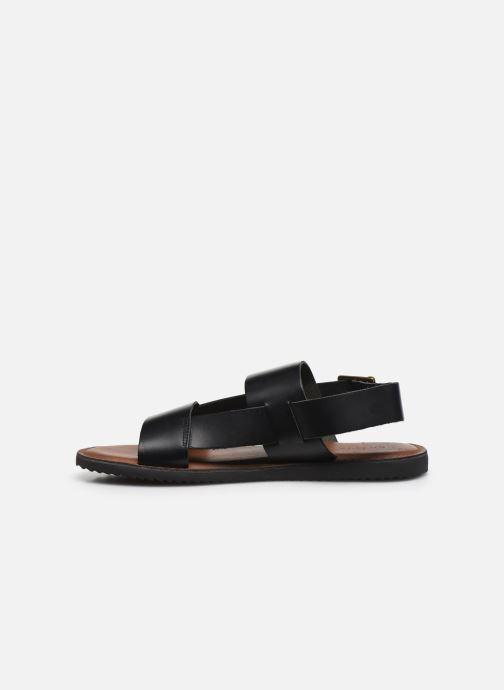 Sandales et nu-pieds Kickers DITHON Noir vue face
