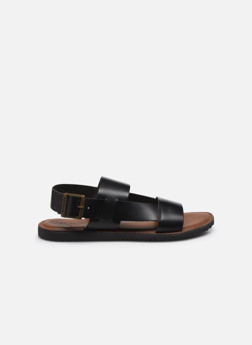 Sandales et nu-pieds Kickers DITHON Noir vue derrière