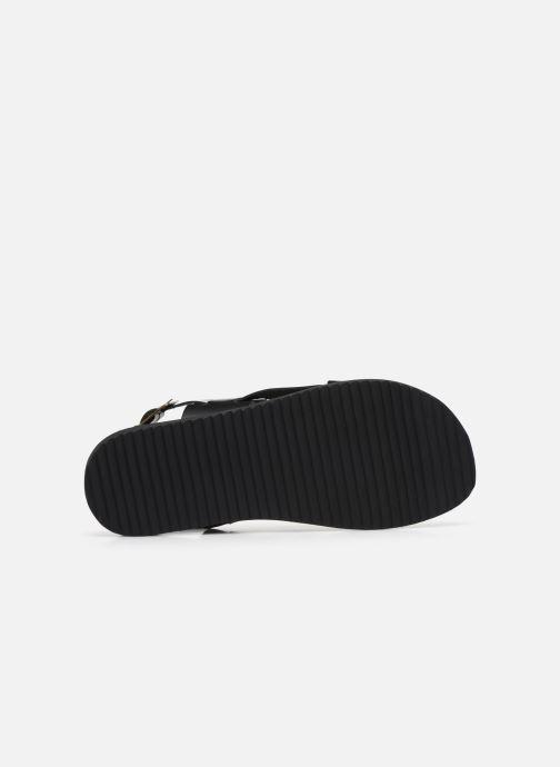 Sandales et nu-pieds Kickers DITHON Noir vue haut