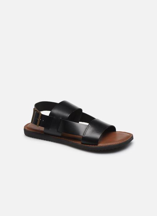 Sandales et nu-pieds Kickers DITHON Noir vue détail/paire
