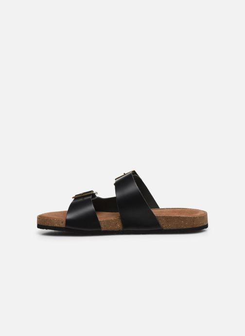 Sandales et nu-pieds Kickers ORANO Noir vue face