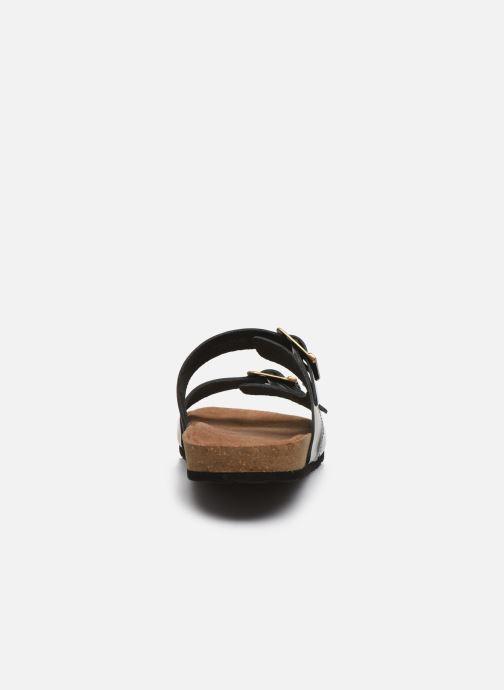 Sandales et nu-pieds Kickers ORANO Noir vue droite