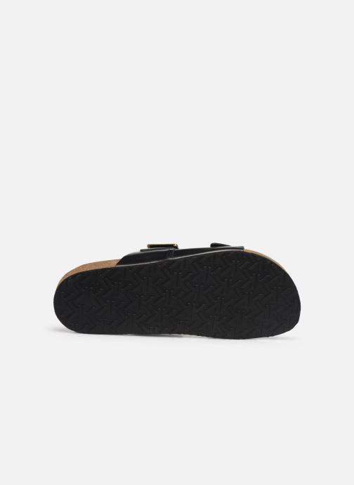 Sandales et nu-pieds Kickers ORANO Noir vue haut