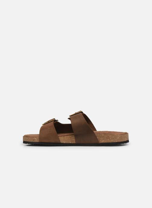 Sandalen Kickers ORANO braun ansicht von vorne