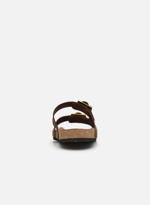 Sandalen Kickers ORANO braun ansicht von rechts