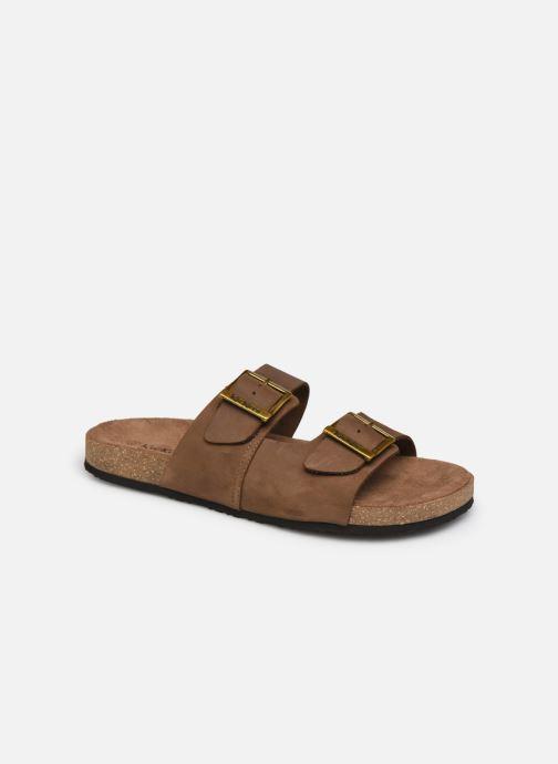 Sandales et nu-pieds Kickers ORANO Marron vue détail/paire