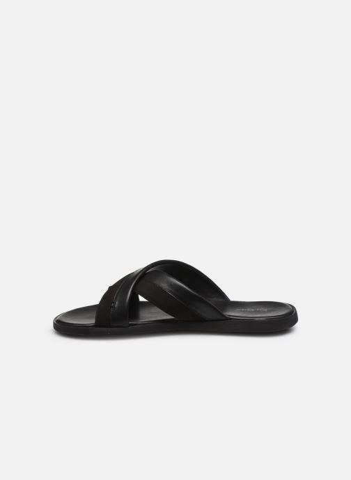 Sandales et nu-pieds Kickers MOOBY Noir vue face