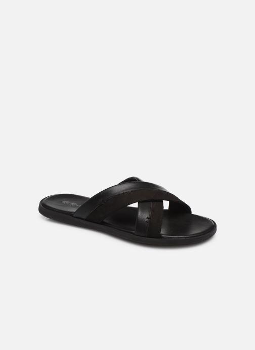 Sandales et nu-pieds Kickers MOOBY Noir vue détail/paire