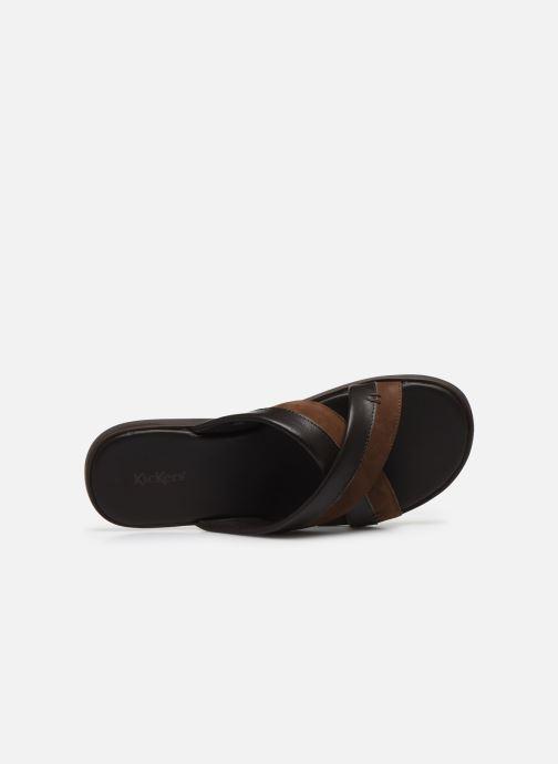 Sandali e scarpe aperte Kickers MOOBY Marrone immagine sinistra