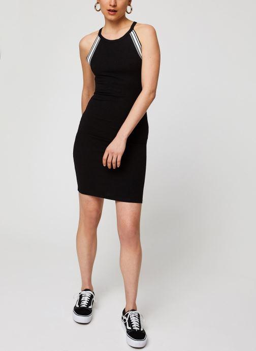 Kleding Noisy May Long Dresses VALSAN Zwart onder